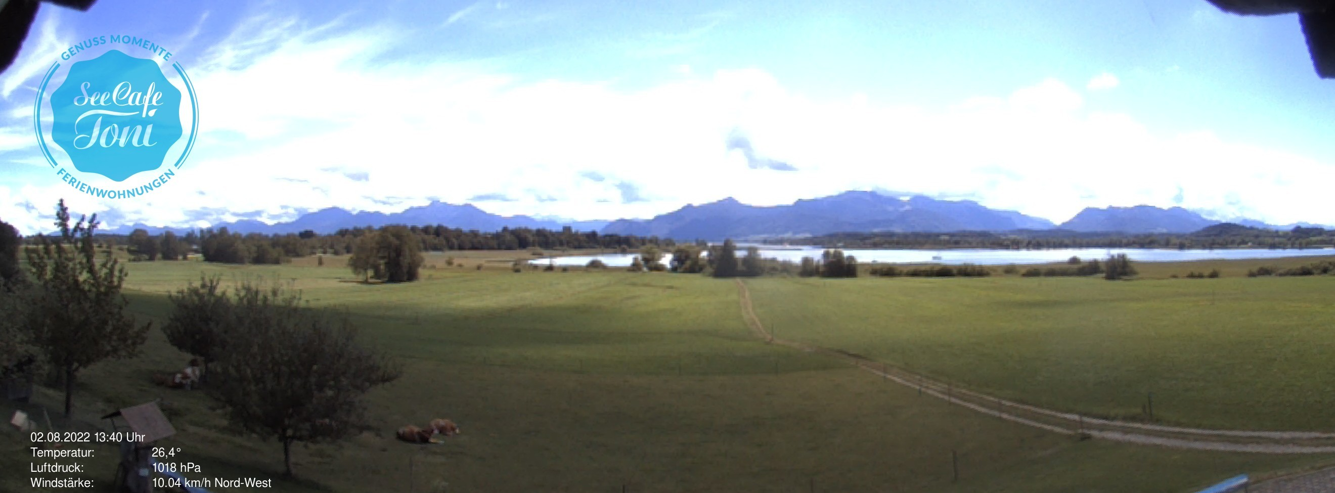 Webcam Seecafe Toni am Chiemsee